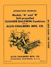 Antique vintage manuals in compatible equipment makegleaner allis chalmers a r gleaner combine operators manual publicscrutiny Images