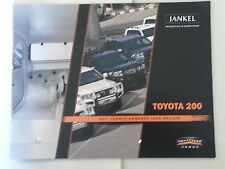 Jeep J8 Complete Family of Vehicles / Jankel Technical Systems Catalog Booklet