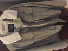 Men's Sherpa Lined Corduroy Denim Coat - Sz M - NEW!