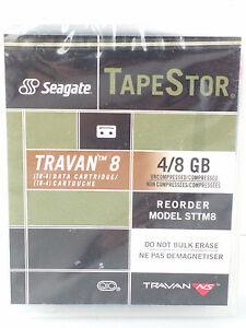 Seagate TapeStor Travan 8 - 4/8Gb Data Storage Cartridge TR-4 - New Sealed