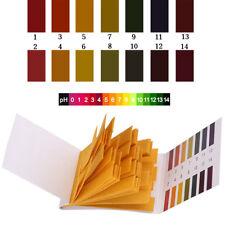 160stk 1-14 PH Wert Teststreifen Test Strips Indikator Papier Messung Wassertest