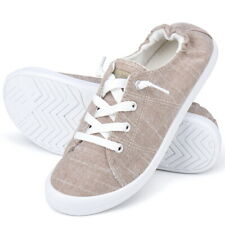 JENN ARDOR Womens Low Top Classic Slip On Lace Up Shoes Comfort Fashion Sneakers
