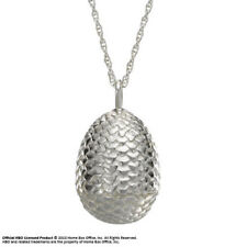 Game of Thrones Pendant & Necklace Dragon Egg (Sterling Silver) Noble
