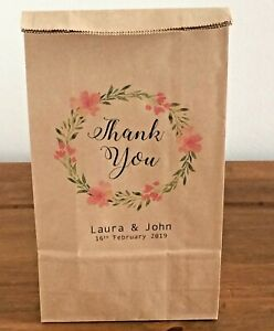 Personalised Favour Bags/Thank you Bags/Gift Bags