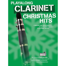 Playalong Clarinet Christmas Hits - 31 Songs With MP3 Backing & Demo Download