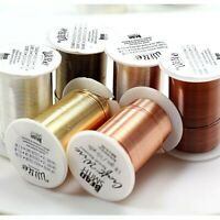 LACQUERED tarnish Resistant Craft Wire Beadsmith 3 Colors 7 Gauges Free Shipping