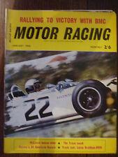Motor Racing - BRSCC journal - magazine - January 1966