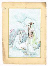 Persian Miniature Painting A Persian Love Affair Finest Quality Of Gouache Art