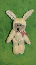 Boyd's Bears Plush~T. F. Wuzzie~TILLY~Bunny~3 Inches~596000~Mini~New Old Stock~