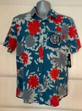 VOLCOM S/S Ballast Shirt Volcom Pipe Pro North Shore Hawaii Patch~S~NWT So Cool