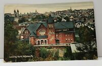 Hazleton Pa Looking North c1908 Pennsylvania Postcard G5
