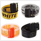 OFF WHITE C/O Virgil Abloh Industrial Transparente Belt Option Original US