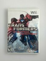 Transformers Cybertron Adventures - Nintendo Wii Game - Complete & Tested