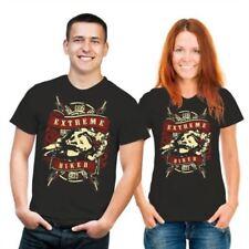 Markenlose Biker Kurzarm Damen-T-Shirts