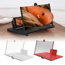 Phone Screen Magnifier HD Video Amplifier Bracket Foldable Phone Destop Holders