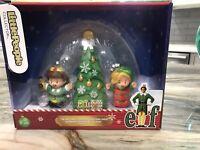 2020 NEW! Fisher-Price Little People Collector Elf Movie Buddy Jovie Tree Xmas