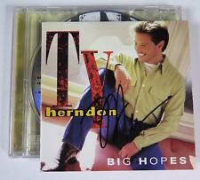 "TY HERNDON Signed Autograph ""Big Hopes"" CD"