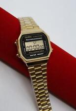 Casio Classic Digital Watch A168 black Gold  Design Unisex Retro Vintage Melbour