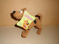 """Cartoon Network 6"""" Scooby-Doo Super Poseable Plush Toy from 1998 Tags"""