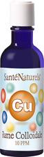 Rame Colloidale Vero - 200 ml 10 ppm - Santé Naturels