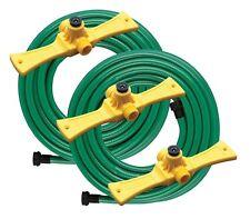 3 Sprinkler Hose Extension Flexible Watering System Lawn Garden Portable Rain
