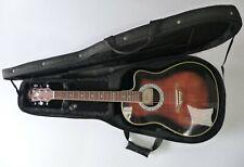 Aria AMB-35 Electro-Acoustic Bowl Back Guitar