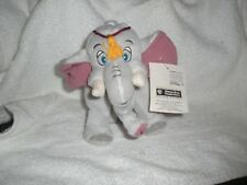 Warner Brothers The King and I Tusker Plush Elephant Bean Bag 1998