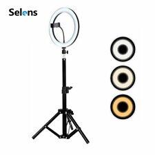 26Cm Led Ring Light & 50Cm Tripod Stand Selfie Fill Light Ring for Photography