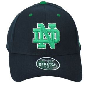 NCAA Zephyr Notre Dame Fighting Irish Fitted Medium Stretch Curved Bill Hat Cap