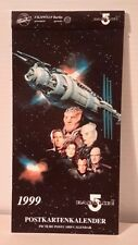 Babylon 5 1999 Official Mini Postcard Calendar (German)-Unused (B5Ca-Pc-Fw)