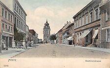 Pyritz, Stettinerstraße, Postkarte 1906