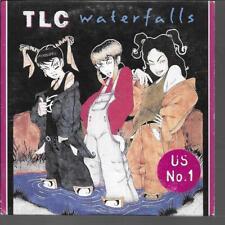 CD SINGLE 2 TITRES--TLC--WATERFALLS--1994
