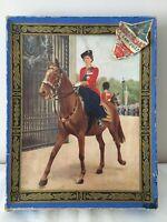 Vintage Wooden Jigsaw Puzzle Of Queen Elizabeth II On Horseback - Kolorbax