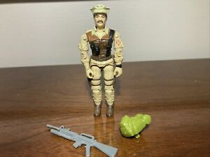 GI Joe ARAH 1986 Special Mission Brazil Leatherneck 100% Complete RARE Figure!!