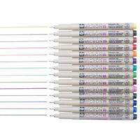 Sakura Pigma Micron Black Drawing Pens Artists Fineliner Drawing Pen W/ Pen Case