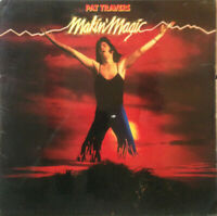 "Pat Travers ‎– Makin' Magic Vinyl 12"" LP UK 2383 436 1977"