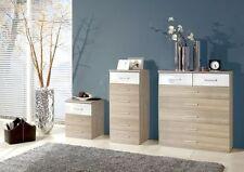 Qmax German Made Bedroom Furniture - Grande Cabinet Range - Washed Oak & White