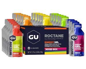 GU Roctane Gel (Mixed Flavor Pack) (24) [123072]