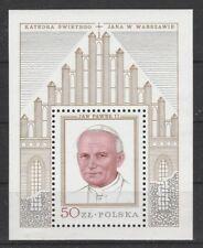V3867 Polonia/Papa Giovanni Paolo II MiNr Block 75 **