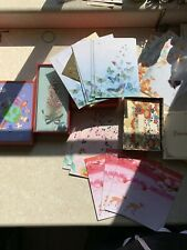 New Lot Papyrus Unicef Greeting Personalized Cards In Box Unused