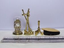 1:12 Scale Fireplace Tools Set Dolls House Miniature