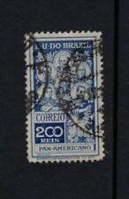 BRAZIL 1909 PAN-AMERICAN CONGRESS 200R BLUE Used