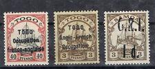 GERMAN COLONIES SAMOA/TOGO SET OF 3 SIGNED BBP
