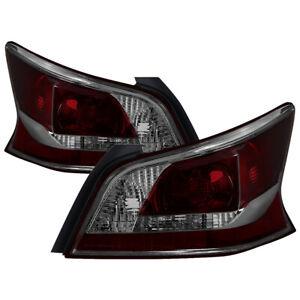 Fit Nissan 13-15 Altima 4dr Sedan Smoke Tinted Replacement Tail Brake Lights Set