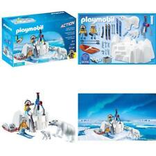 polaire Ranger avec les ours polaires et perceuse glace fonctionnelle Action de Playmobil 9056