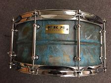 Pork Pie 6.5x14 Patina Brass Snare Drum