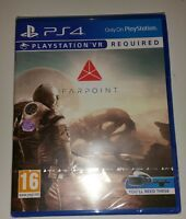FARPOINT PSVR PS4 New Sealed UK PAL Version Game Sony PlayStation 4 VR