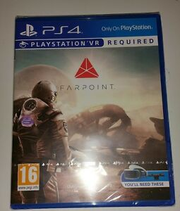 FARPOINT PSVR PS4 New Sealed UK PAL Game Sony PlayStation 4 VR PS shooter