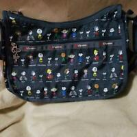 LeSportsac x Peanuts All-Star Snoopy Shoulder Bag With Poach Japan Limited