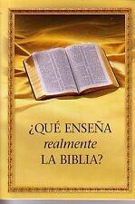 Que Ensena Realmente La Biblia by Watch Tower Society of Pennsylvania